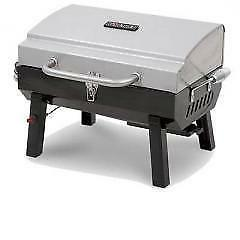 Char-Broil Deluxe Tabletop 10,000 BTU Gas Grill Stainless St