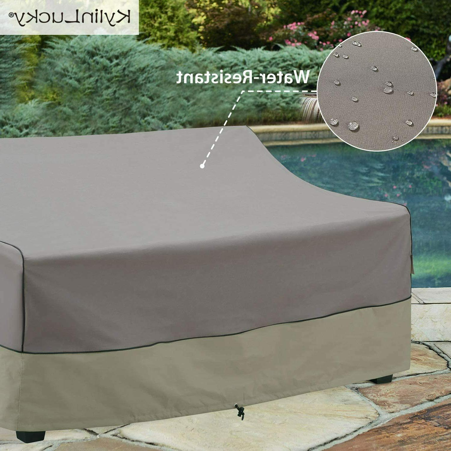 Kylinlucky Outdoor Furniture Waterproof, Patio Cover Fits