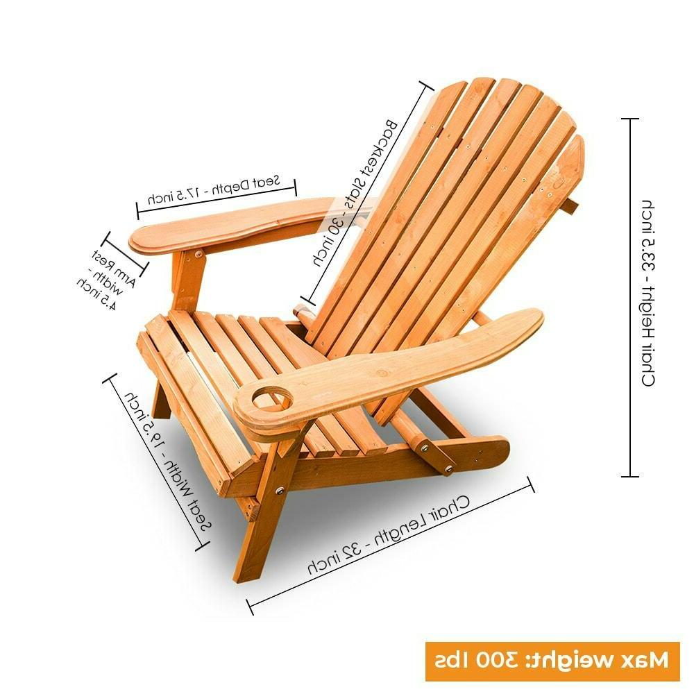 NEW Chair Foldable Deck