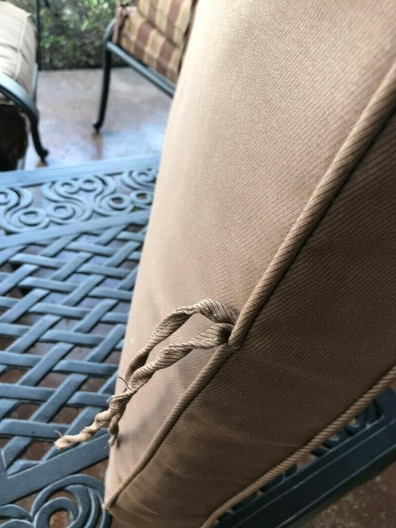 outdoor chair seat and back, Sunbrella fabric,approx