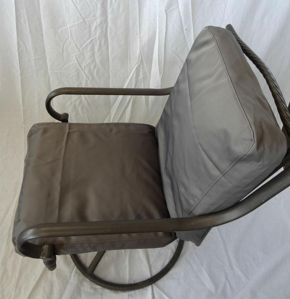 Outdoor Patio Pool Chair Cushion of twill