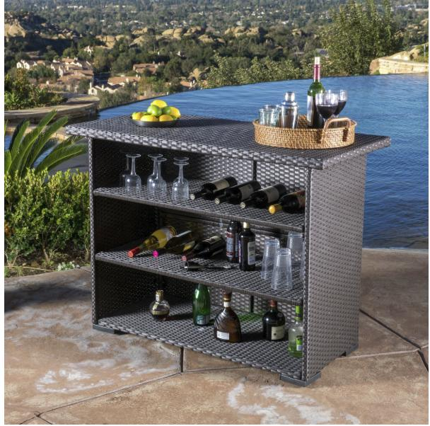 Outdoor Wicker Christopher Knight Furniture Table