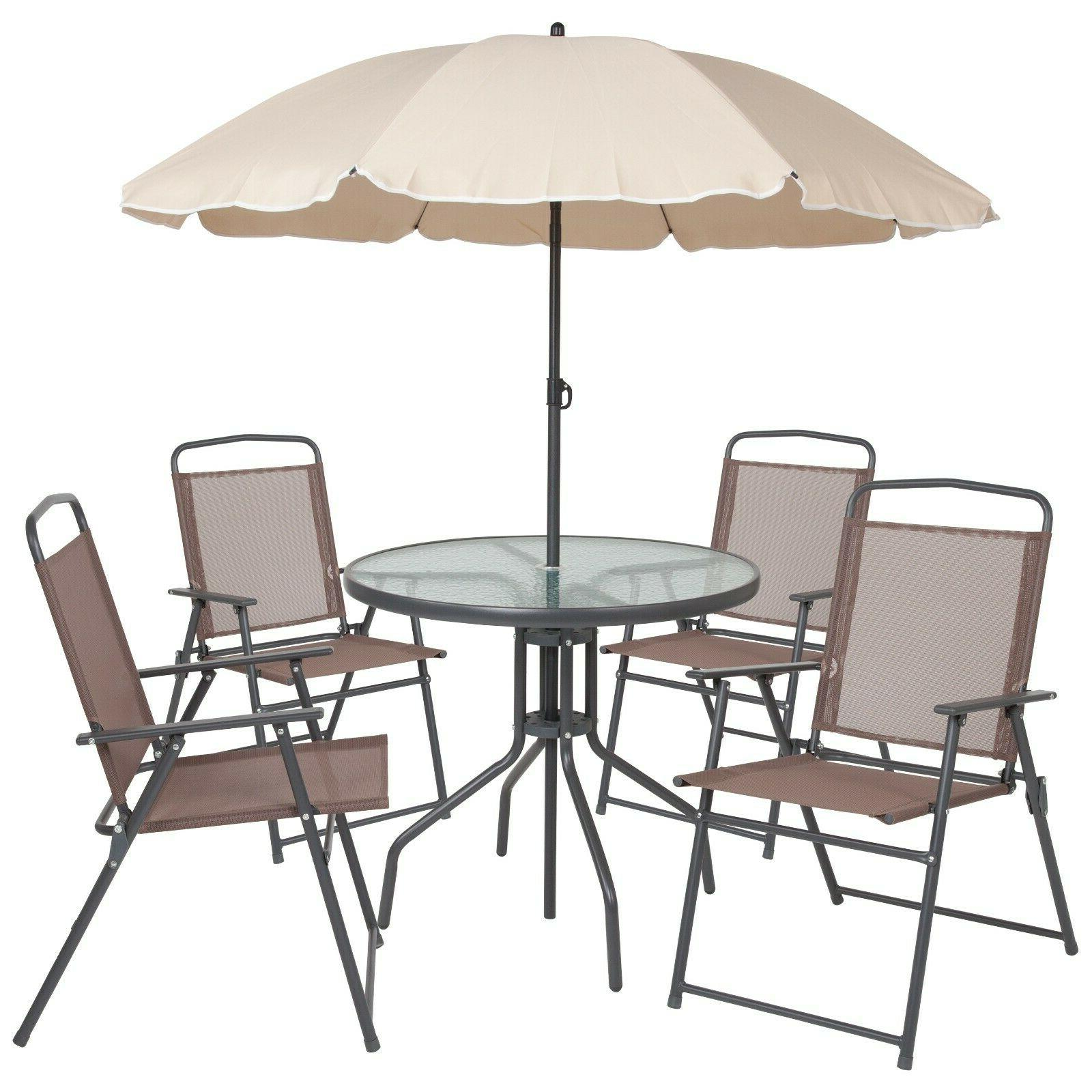 Patio Furniture Sets Clearance With Umbrella Commercial BHG
