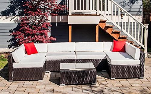 Outsunny 7 Piece Patio Sectional