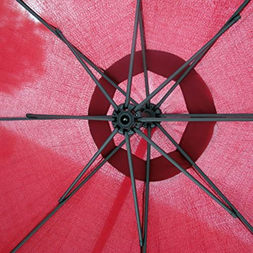 Best Products Patio Umbrella Offset 10' Hanging New