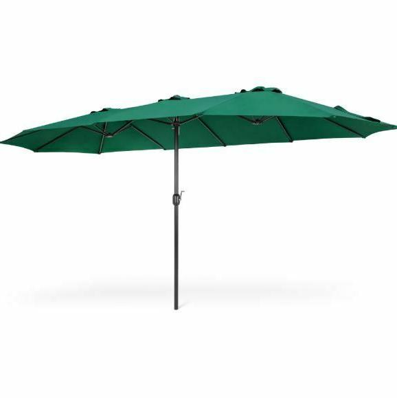 patio umbrellas clearance outdoor rectangular 15x9ft large