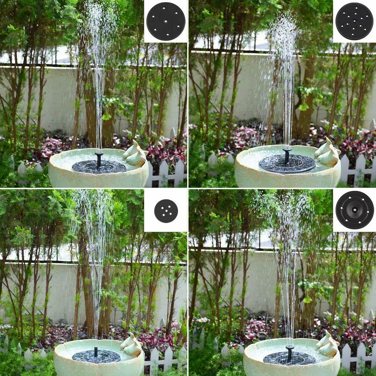 Fountain Pump Floating Outdoor Pond