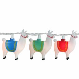 Llama STRING LIGHTS ~ Patio Bar Party ~ 8.5 ft NEW in Box $2