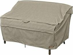 Montlake FadeSafe Patio Bench/Loveseat Cover -Large, Heather