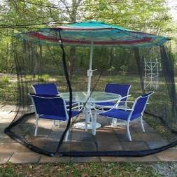 Mosquito Net Canopy Yard Patio Umbrella Cover Flying Insects