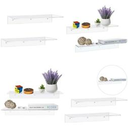MyGift 17 Inch Contemporary Clear Acrylic Floating 17-Inch ,