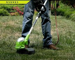 NEW Electric Grass Trimmer Patio Yard Greenworks 5.5Amp 15-I