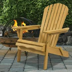 outdoor adirondack wood chair foldable patio lawn