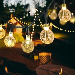 30 LED Solar String Lights Patio Party Yard Garden Wedding W