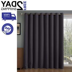 Patio Door Curtain Panel Blackout Blind Sliding Wide Glass W