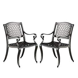 Marietta Outdoor Cast Aluminum Dining Chair