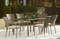 Patio Furniture Sets Clearance Dining 6 Person Table And Cha