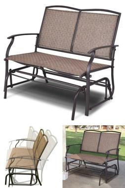 Patio Furniture Sets Clearance Outdoor Glider Rocking Bench