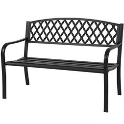 Best Choice Products 50in Steel Outdoor Patio Garden Park Be