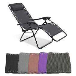 Patio Leisure Chair Fabric Cloth Replacement for Non-gravity