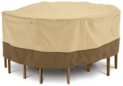 Veranda Collection Patio Table and Chair Set Cover Tall Roun