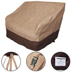 Patio Waterproof Loveseat Wicker Chairs Seat Cover Protectio