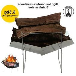 Portable Folding BBQ Charcoal Grill Back yard Barbecue Cooki