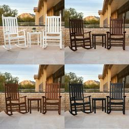 McGavin 3-piece Rocker by POLYWOOD Chair Relaxing Outdoor Ne