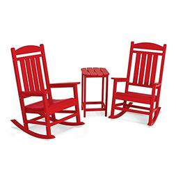 POLYWOOD Presidential 3 Piece Rocker Set