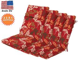 Bossima Outdoor Seat Cushions Patio High Back Dining Chair R