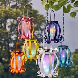 Solar Lights Outdoor Lantern Patio Yard Decorations Porch Ha