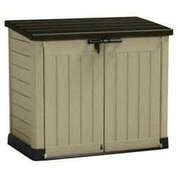 Storage Resin Outdoor Box Deck Shed Keter Sheds Patio Garden