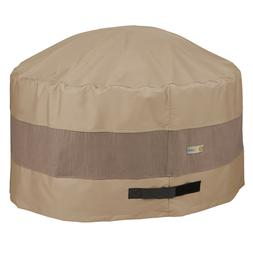 Duck Covers Elegant Waterproof Patio Round Fire Pit Cover