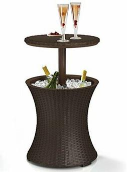 Table cooler Keter 7.5-Gal Cool Bar Rattan Style Outdoor Pat