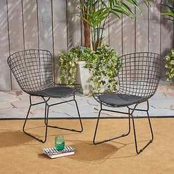 Tyson Outdoor Chairs  by Christopher Knight Home