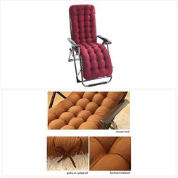 Uheng Indoor Outdoor Patio High Seat Back Chair Cushion for