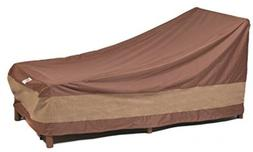 """Duck Covers Ultimate 80"""" Patio Chaise Lounge Cover"""