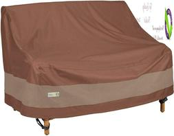 Duck Covers Ultimate Patio Loveseat Cover, 70-Inch