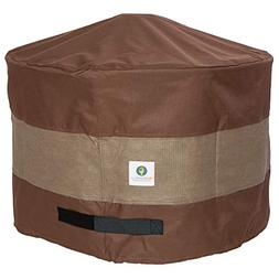 Duck Covers Ultimate Round Fire Pit Cover, 50-inch, New, Fre