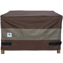"""Duck Covers Ultimate Square Fire Pit Cover 40"""" L x 40"""" W x 2"""