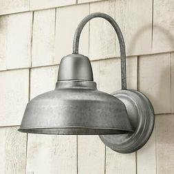 urban barn galvanized wall light
